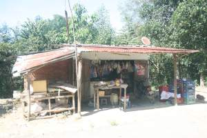 Local shop in Lien Sang
